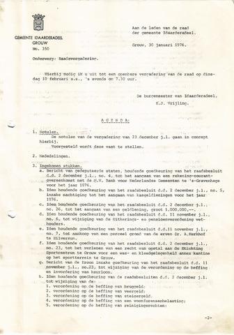 raadsverslagen Idaarderadeel 1935-1983 1976