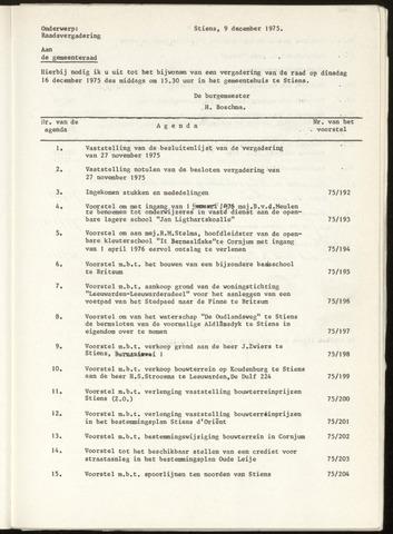Notulen van de gemeenteraad van Leeuwarderadeel 1975-11-27