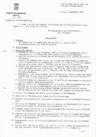 raadsverslagen Idaarderadeel 1935-1983 1969-09-09