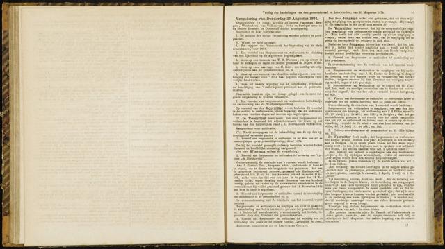 Raadsverslagen van de gemeente Leeuwarden, 1865-2007 (Notulen) 1874-08-27