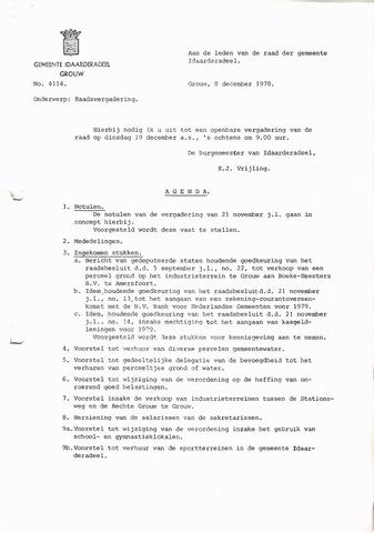 raadsverslagen Idaarderadeel 1935-1983 1978-12-19