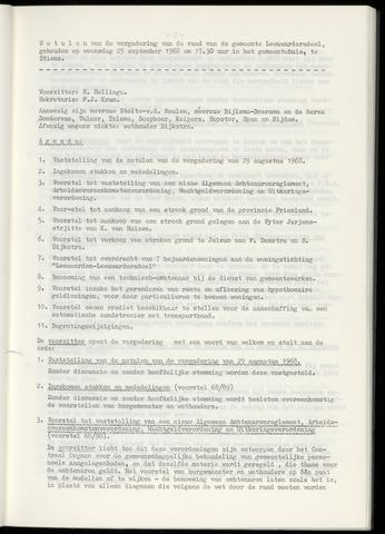 Notulen van de gemeenteraad van Leeuwarderadeel 1968-09-25