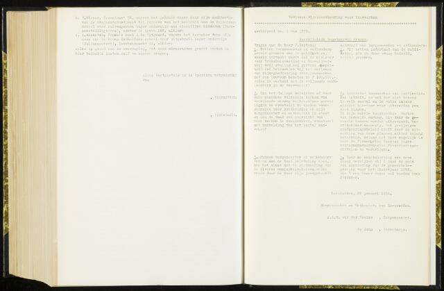 Raadsverslagen van de gemeente Leeuwarden, 1865-2007 (Schriftelijke vragen) 1958-01-01