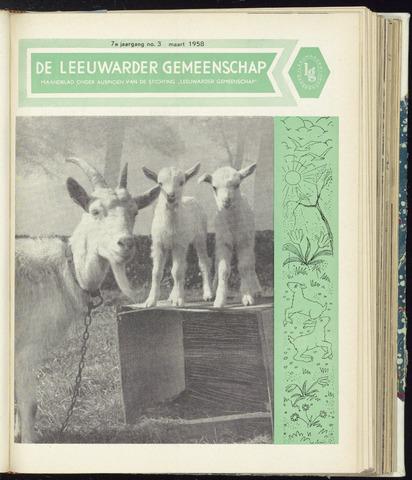 Leeuwarder Gemeenschap 1958-03-01