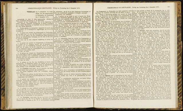 Raadsverslagen van de gemeente Leeuwarden, 1865-2007 (Notulen) 1870-12-08