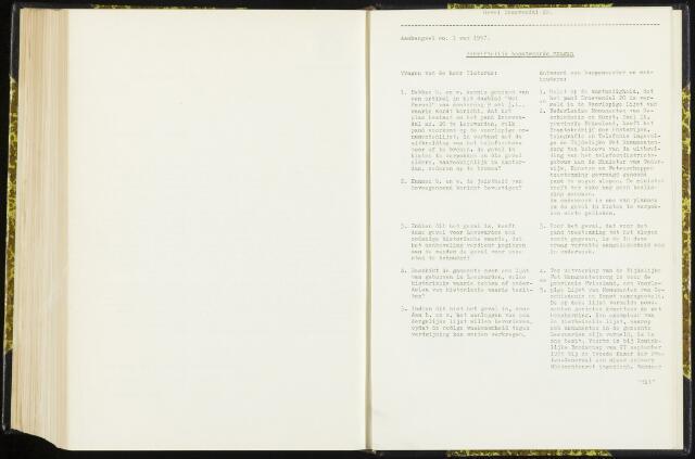 Raadsverslagen van de gemeente Leeuwarden, 1865-2007 (Schriftelijke vragen) 1957