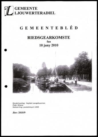 Notulen van de gemeenteraad van Leeuwarderadeel 2010-06-10