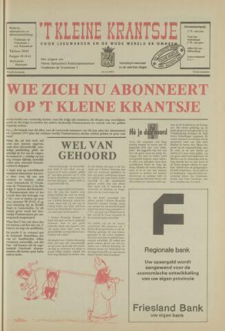 't Kleine Krantsje, 1964-1997 1973-11-21
