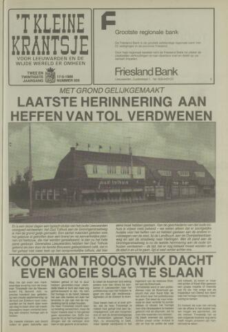 't Kleine Krantsje, 1964-1997 1986-05-17