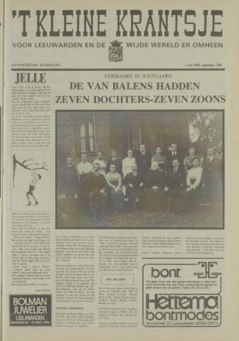 't Kleine Krantsje, 1964-1997 1981-08-01
