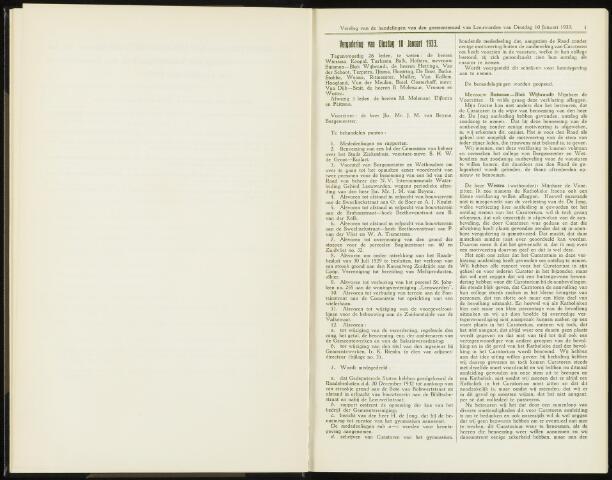 Raadsverslagen van de gemeente Leeuwarden, 1865-2007 (Notulen) 1933