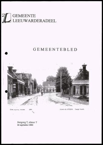 Notulen van de gemeenteraad van Leeuwarderadeel 2002-09-26