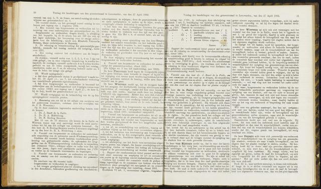 Raadsverslagen van de gemeente Leeuwarden, 1865-2007 (Notulen) 1882-04-27