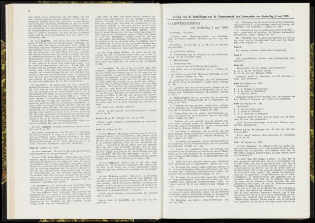 Raadsverslagen van de gemeente Leeuwarden, 1865-2007 (Notulen) 1965-05-06