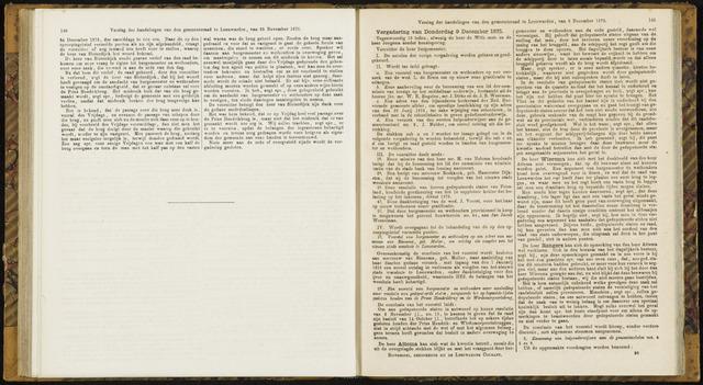 Raadsverslagen van de gemeente Leeuwarden, 1865-2007 (Notulen) 1875-12-09