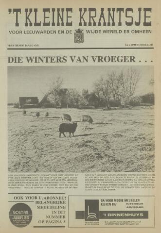 't Kleine Krantsje, 1964-1997 1978-01-14