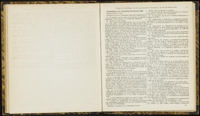 Raadsverslagen van de gemeente Leeuwarden, 1865-2007 (Notulen) 1883-10-25