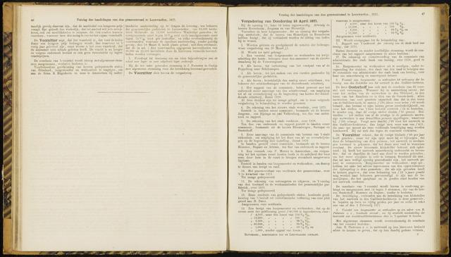 Raadsverslagen van de gemeente Leeuwarden, 1865-2007 (Notulen) 1871-04-13