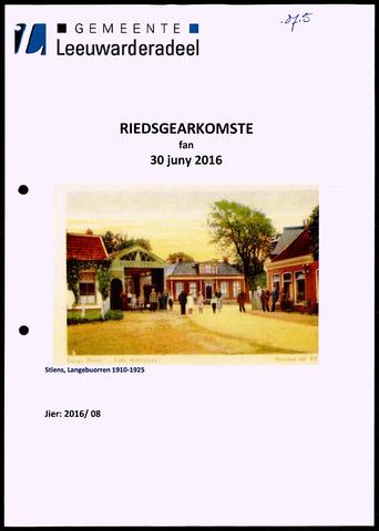 Notulen van de gemeenteraad van Leeuwarderadeel 2016-10-01