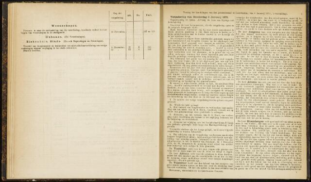 Raadsverslagen van de gemeente Leeuwarden, 1865-2007 (Notulen) 1873