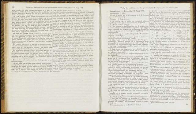 Raadsverslagen van de gemeente Leeuwarden, 1865-2007 (Notulen) 1882-06-22