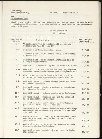 Notulen van de gemeenteraad van Leeuwarderadeel 1975-06-26