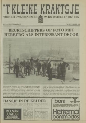 't Kleine Krantsje, 1964-1997 1981-03-07
