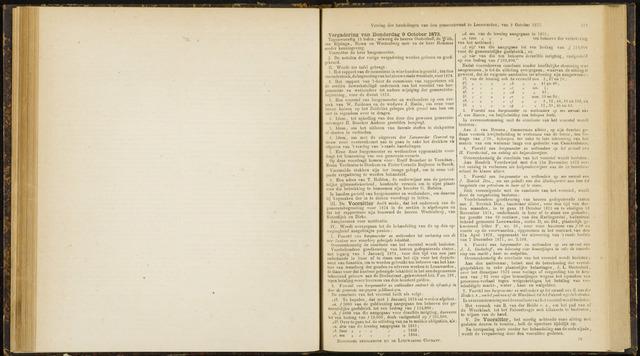 Raadsverslagen van de gemeente Leeuwarden, 1865-2007 (Notulen) 1873-09-10