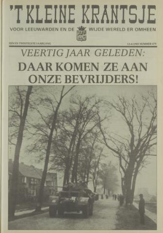 't Kleine Krantsje, 1964-1997 1985-04-13