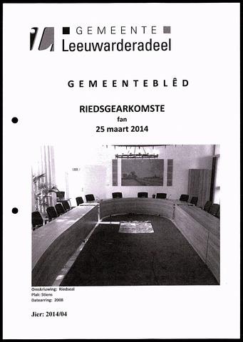 Notulen van de gemeenteraad van Leeuwarderadeel 2014-03-25