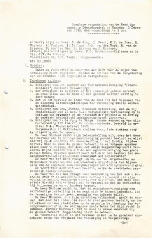 raadsverslagen Idaarderadeel 1935-1983 1949-12-12
