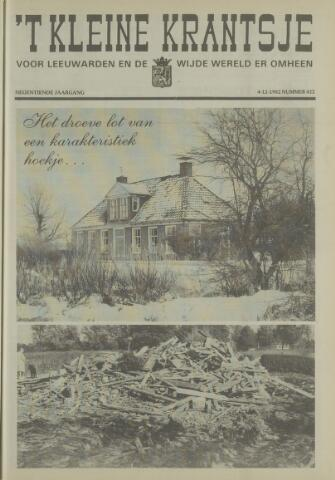 't Kleine Krantsje, 1964-1997 1982-12-04