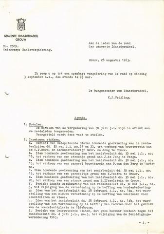 raadsverslagen Idaarderadeel 1935-1983 1963-09-03