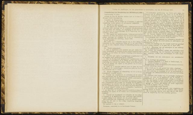 Raadsverslagen van de gemeente Leeuwarden, 1865-2007 (Notulen) 1883-02-22