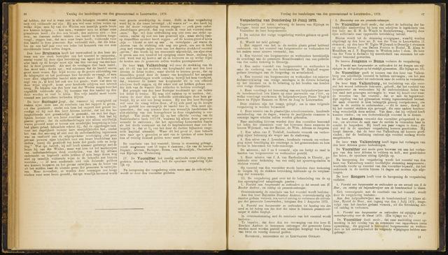 Raadsverslagen van de gemeente Leeuwarden, 1865-2007 (Notulen) 1872-06-13