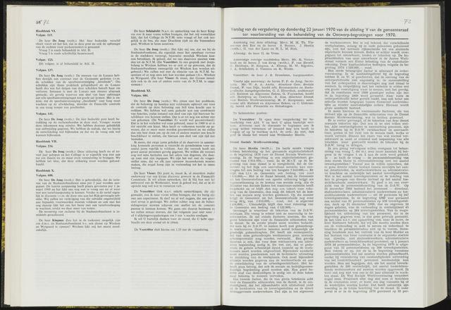 Raadsverslagen van de gemeente Leeuwarden, 1865-2007 (Notulen) 1970-01-22