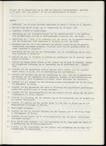 Notulen van de gemeenteraad van Leeuwarderadeel 1968-04-25