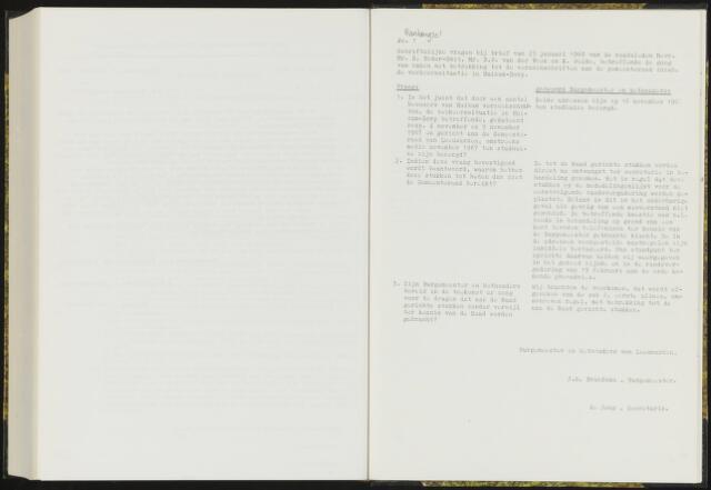 Raadsverslagen van de gemeente Leeuwarden, 1865-2007 (Schriftelijke vragen) 1968-01-01