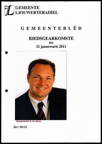 Notulen van de gemeenteraad van Leeuwarderadeel 2011-01-21