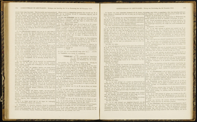 Raadsverslagen van de gemeente Leeuwarden, 1865-2007 (Notulen) 1868-11-26