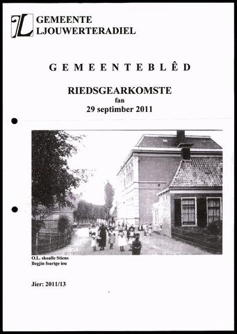 Notulen van de gemeenteraad van Leeuwarderadeel 2011-09-29