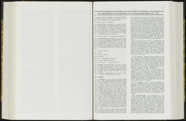 Raadsverslagen van de gemeente Leeuwarden, 1865-2007 (Notulen) 1972-11-16