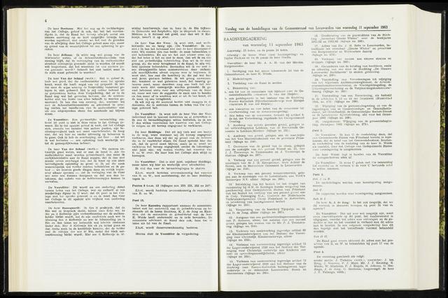 Raadsverslagen van de gemeente Leeuwarden, 1865-2007 (Notulen) 1963-08-11