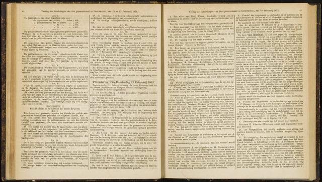 Raadsverslagen van de gemeente Leeuwarden, 1865-2007 (Notulen) 1873-02-27