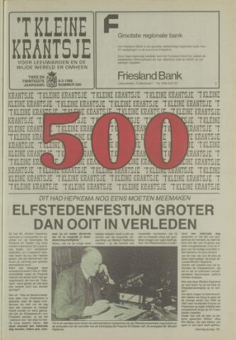't Kleine Krantsje, 1964-1997 1986-03-08