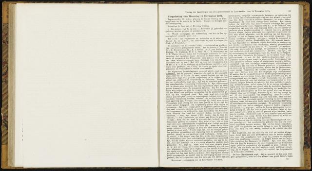 Raadsverslagen van de gemeente Leeuwarden, 1865-2007 (Notulen) 1875-11-15