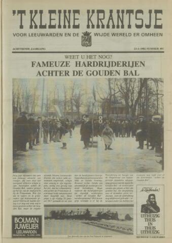 't Kleine Krantsje, 1964-1997 1982-01-23