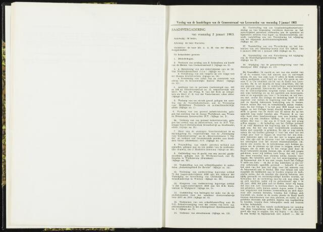 Raadsverslagen van de gemeente Leeuwarden, 1865-2007 (Notulen) 1963