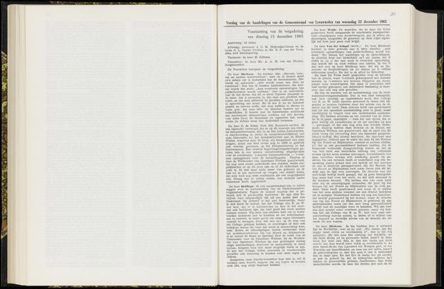 Raadsverslagen van de gemeente Leeuwarden, 1865-2007 (Notulen) 1965-12-21