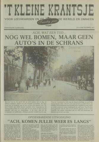 't Kleine Krantsje, 1964-1997 1984-08-25
